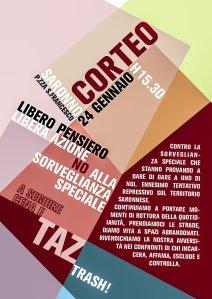 CORTEO 24 GENNAIO